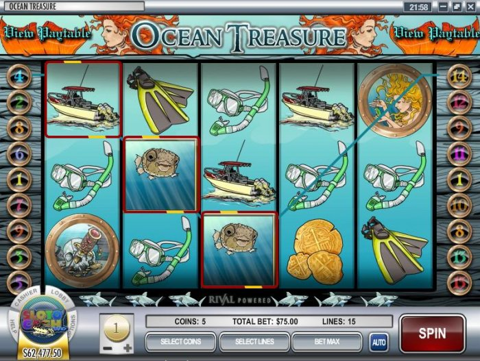 Ocean Treasure screenshot