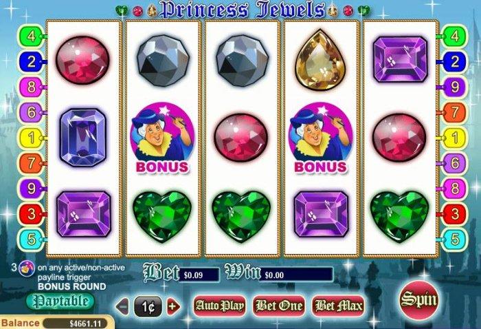 Princess Jewels by All Online Pokies