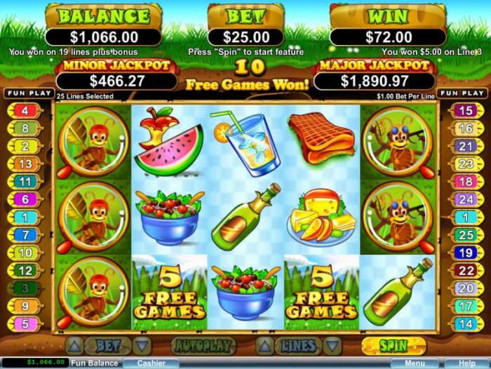 All Online Pokies image of Small Fortune