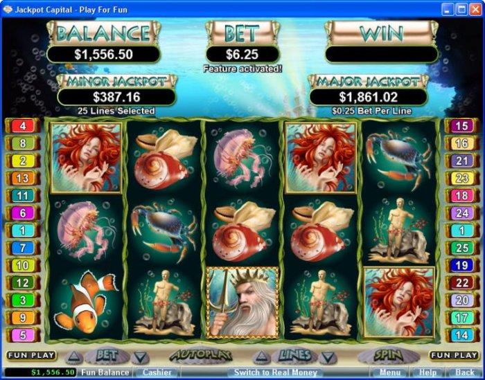 Triton's Treasure screenshot