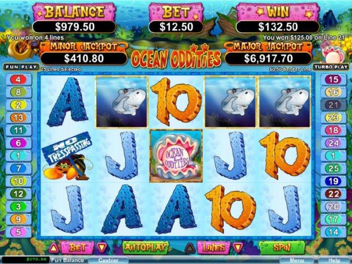 Ocean Oddities screenshot