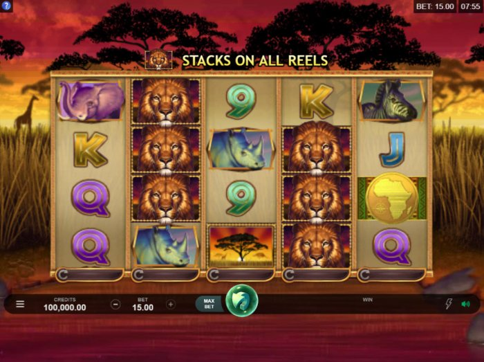 All Online Pokies image of African Quest