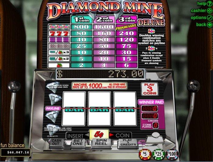 Diamond Mine Deluxe screenshot