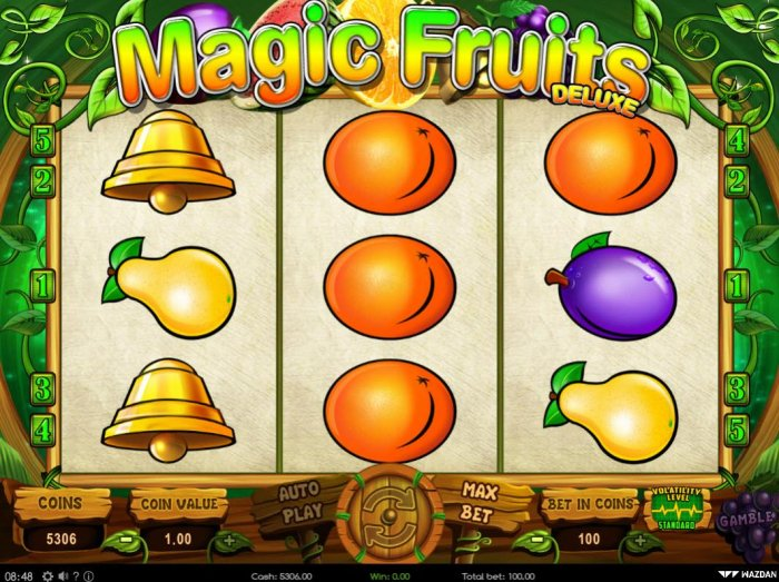 Magic Fruits Deluxe screenshot