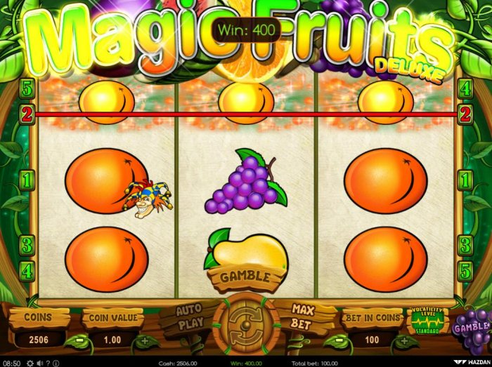 All Online Pokies image of Magic Fruits Deluxe