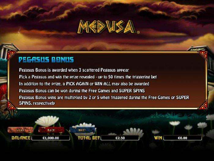 All Online Pokies - how to play the pegasus bonus feature