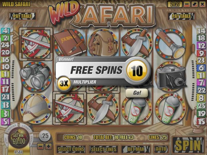 Wild Safari by All Online Pokies