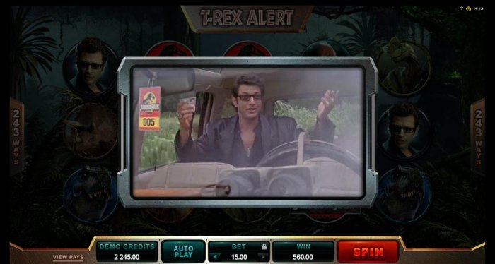 Jurassic Park by All Online Pokies