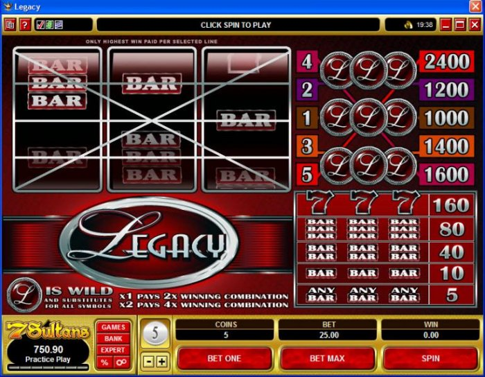 Legacy by All Online Pokies