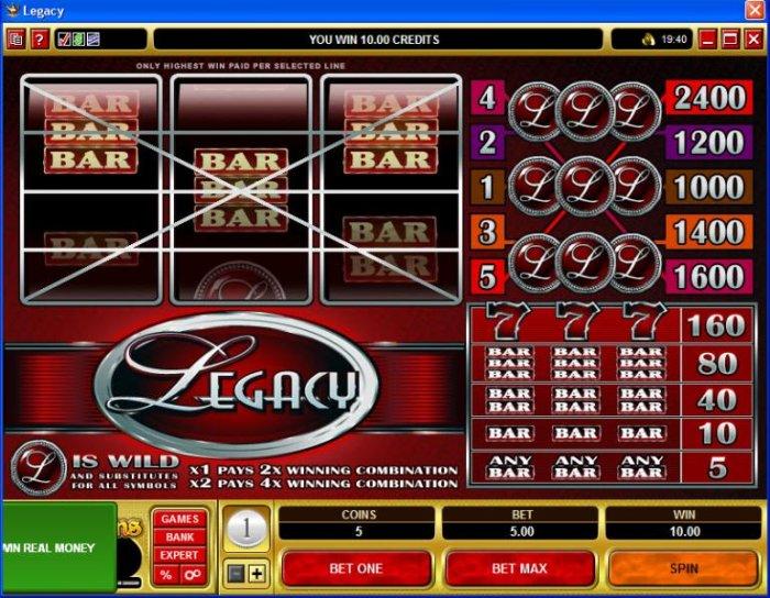 Legacy screenshot