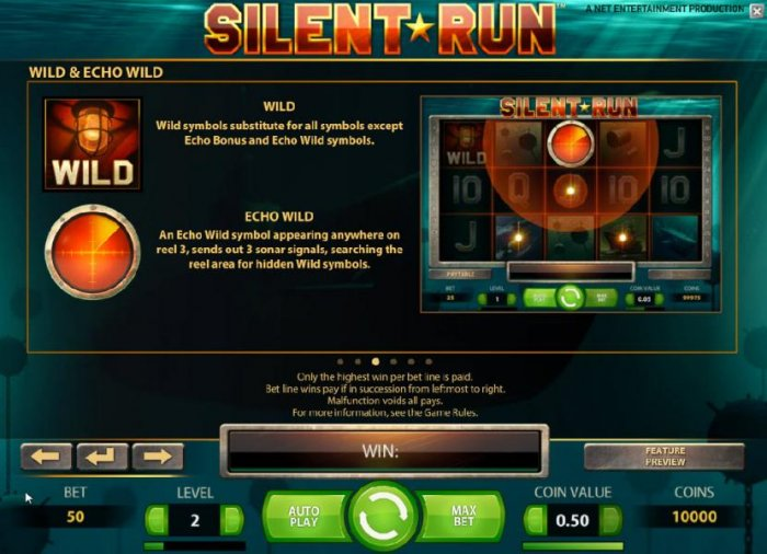 Silent Run by All Online Pokies