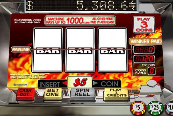 All Online Pokies image of Triple 7s Inferno