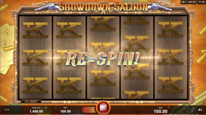 Re-Spin Feature Triggered - All Online Pokies