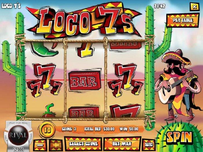 All Online Pokies image of Loco 7's