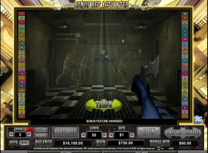 All Online Pokies image of Batman