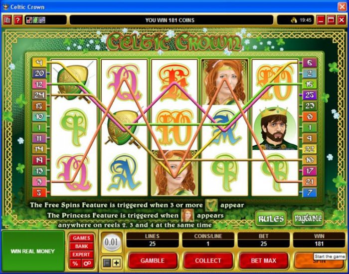 Celtic Crown screenshot