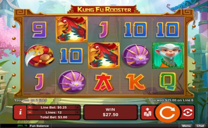 Kung Fu Rooster screenshot