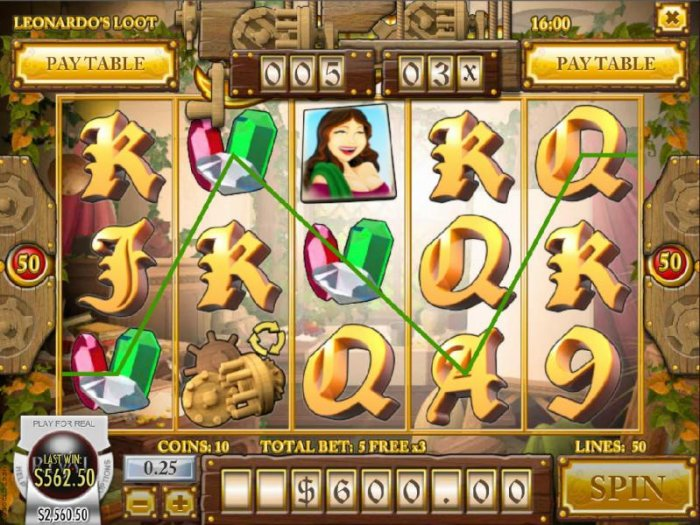 Three gemstone symbols triggers a big win during the free spins bonus game by All Online Pokies