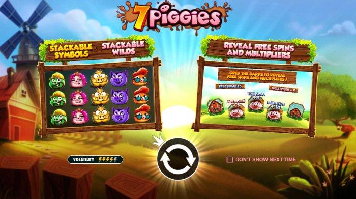 Images of 7 Piggies