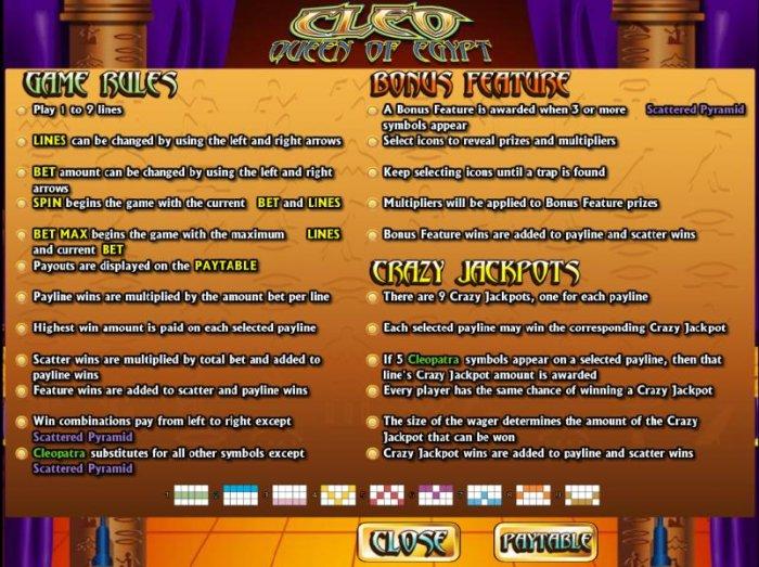 Cleo Queen Of Egypt screenshot