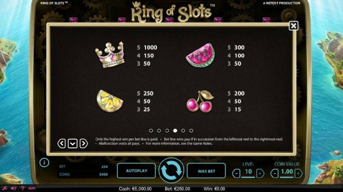 King of Slots screenshot