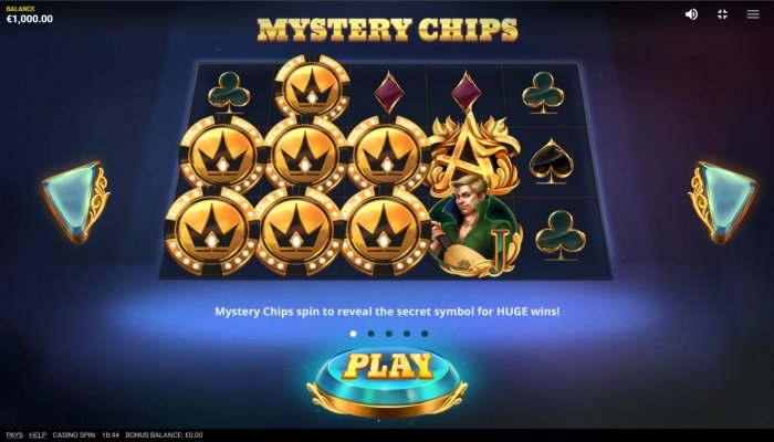 Mystery Chips - All Online Pokies
