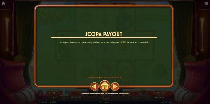 All Online Pokies image of Scopa