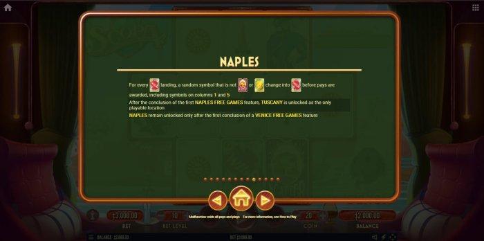 Naples - All Online Pokies