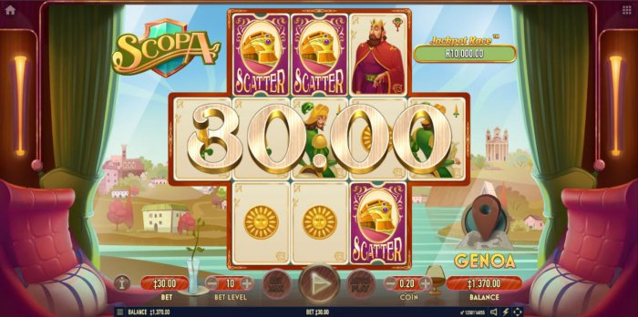 Scatter symbols triggers the free spins bonus feature - All Online Pokies