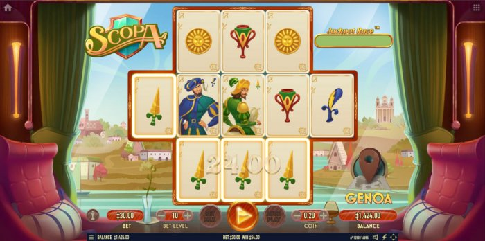 All Online Pokies - A four of a kind win