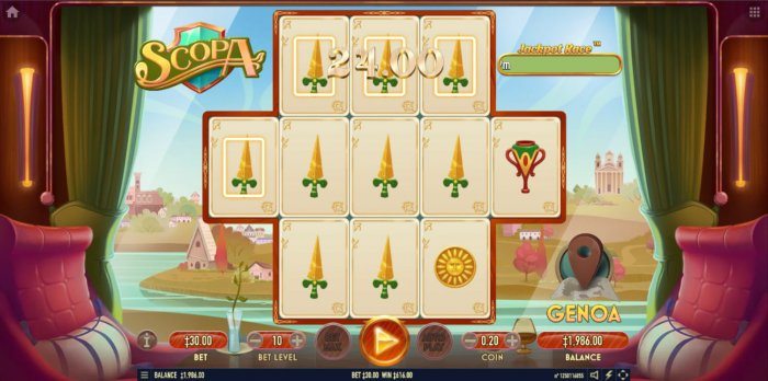 Multiple winning combinations lead to a big win - All Online Pokies