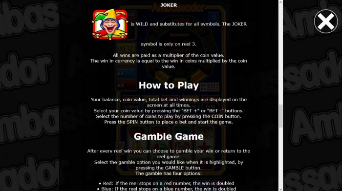Wild Symbol Rules by All Online Pokies