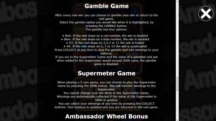 All Online Pokies image of Ambassador