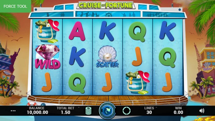 All Online Pokies image of Cruise of Fortune