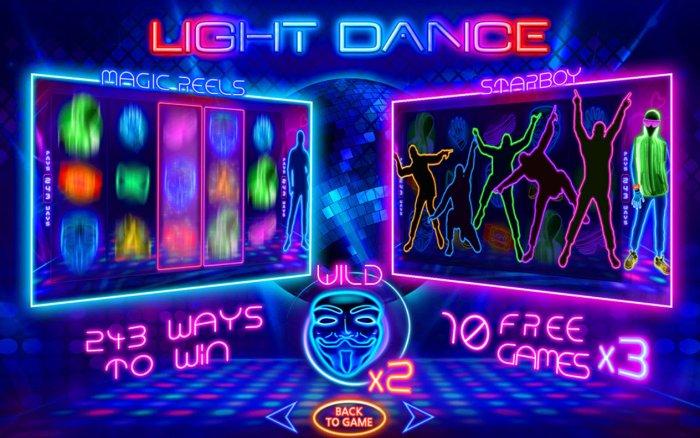 Light Dance by All Online Pokies