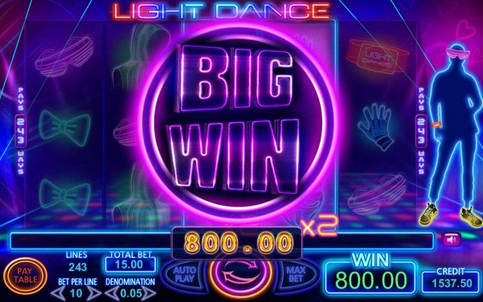 All Online Pokies image of Light Dance