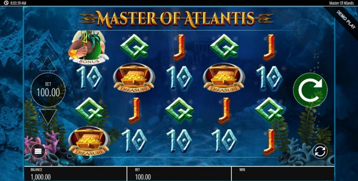 Master of Atlantis screenshot