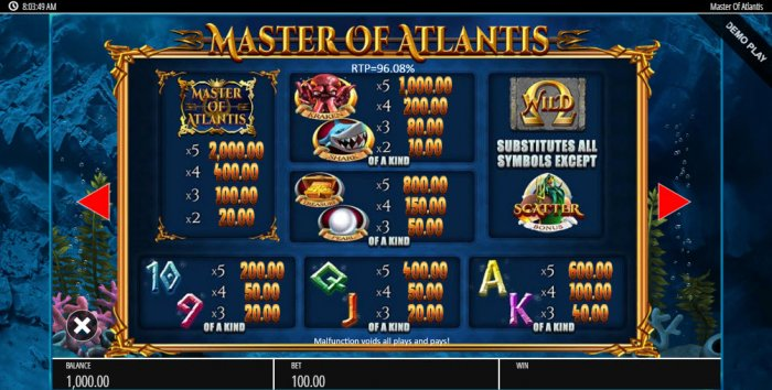 Images of Master of Atlantis