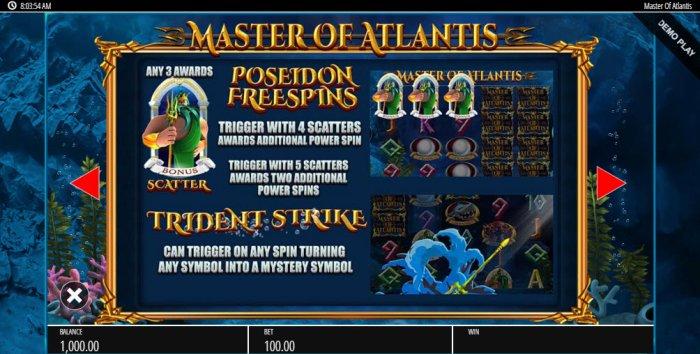 Master of Atlantis by All Online Pokies