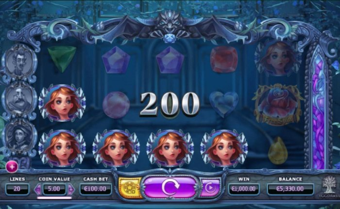 All Online Pokies image of Beauty & the Beast