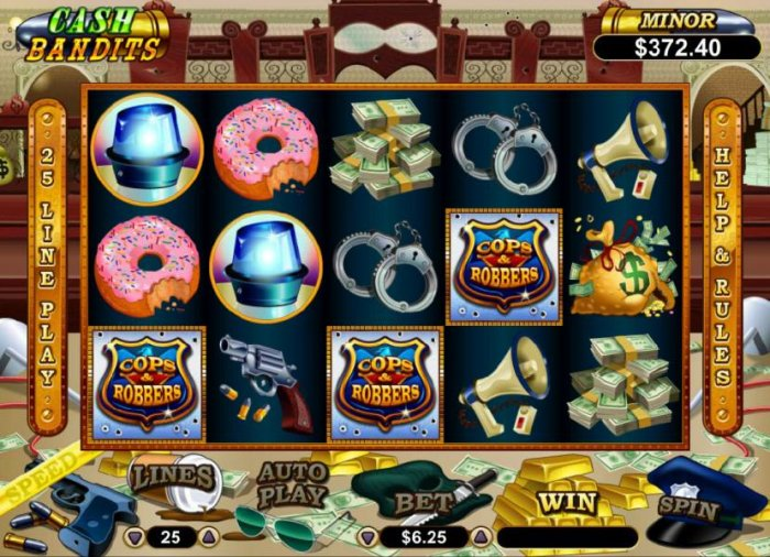 All Online Pokies image of Cash Bandits