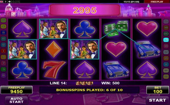 Casinova screenshot