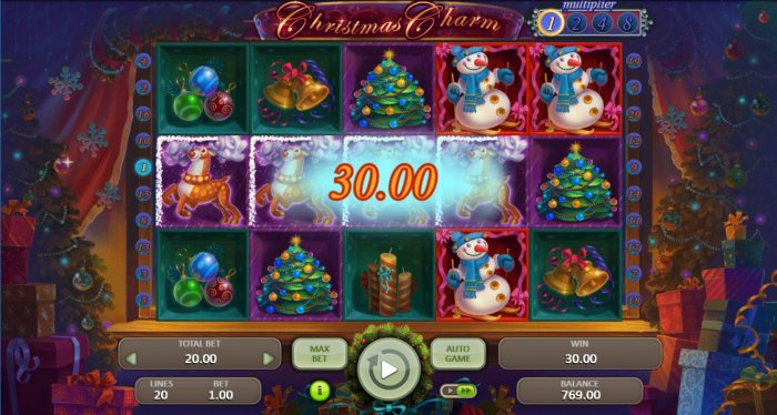 A winning Four of a Kind - All Online Pokies