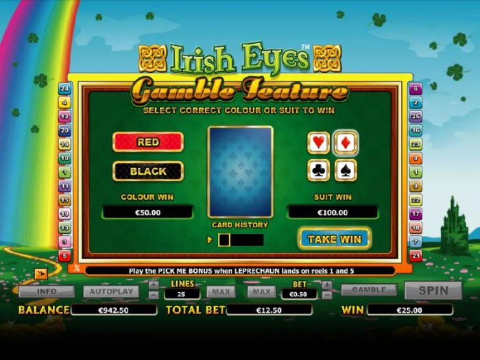 Irish Eyes by All Online Pokies