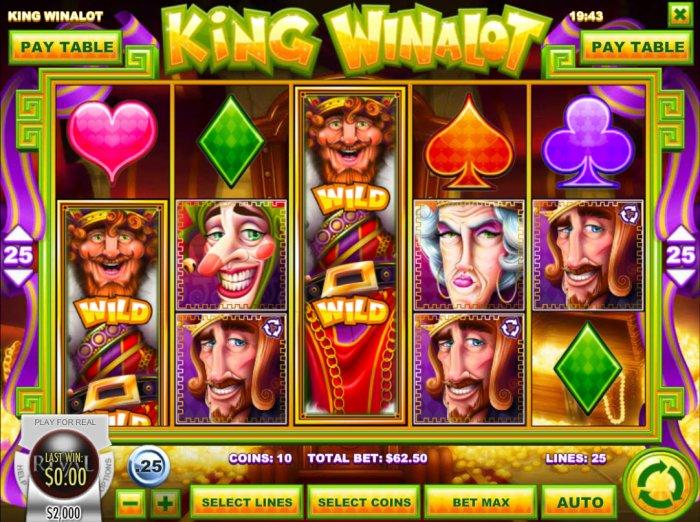 All Online Pokies image of King Winalot