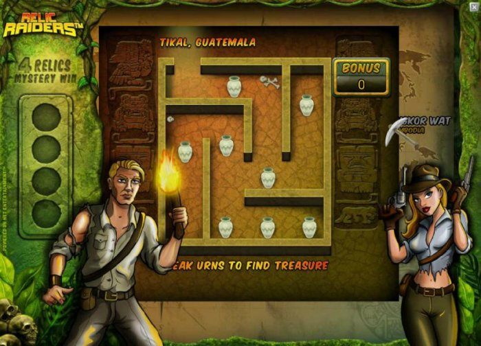 All Online Pokies image of Relic Raiders