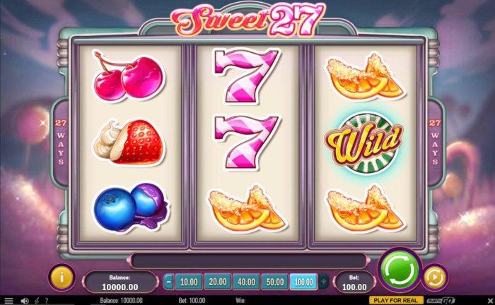 Sweet 27 by All Online Pokies