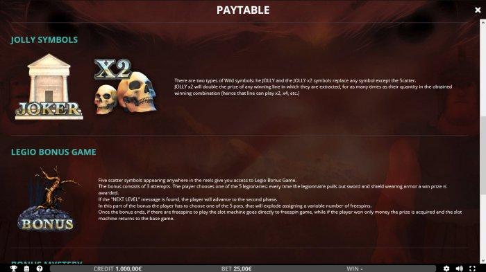 All Online Pokies image of IX Legio