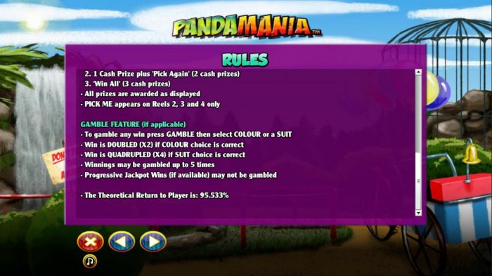 Gamble feature rules by All Online Pokies