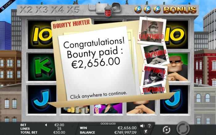 Bounty Hunter screenshot